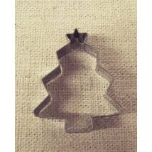 Karácsonyfás süteménykivágó forma