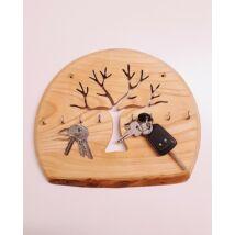 Kőrisfa kulcstartó, ovális - 28 cm