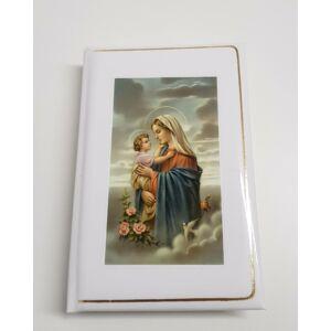 Hozsanna teljes kottás népénekes könyv, Mária, a gyermek Jézus és a galamb képpel