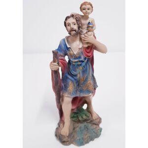 Szent Kristóf és Jézus szobor
