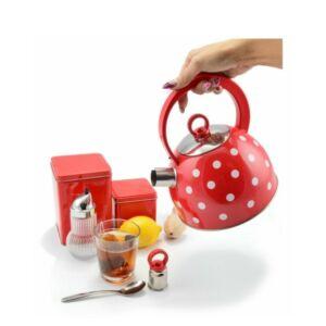 Pöttyös teafőző kanna, 2 literes