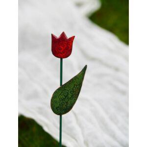 Tűzzománc tulipán