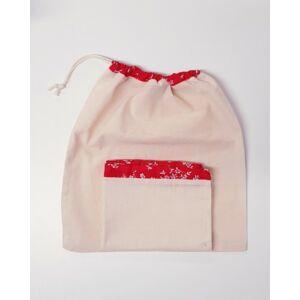 Környezettudatos textilzsák – 2 darabos szett: 1 nagy és 1 kicsi zsák