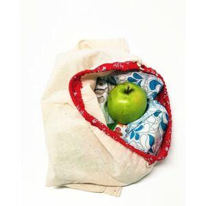 Környezetkímélő textilzsák szett - 3 darab, nagy méretű zsák