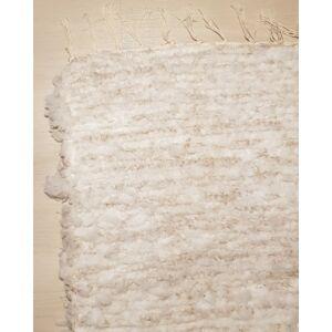 Kézzel szőtt vatelin barnás szőnyeg, 110 cm