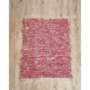 Kézzel szőtt, bordó zsenília szőnyeg, 95 cm