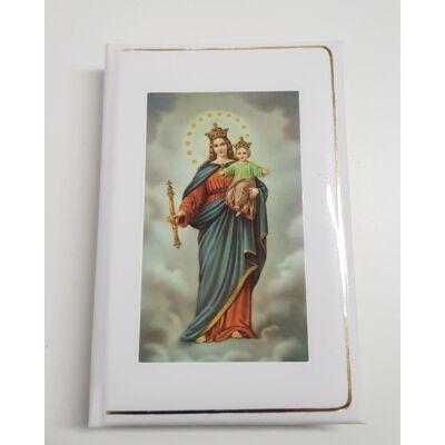 Hozsanna teljes kottás népénekes könyv Mária és a gyermek Jézus képpel
