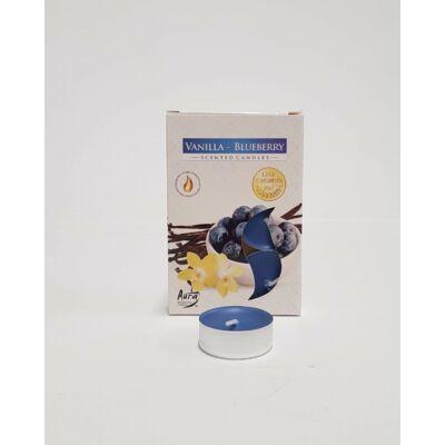 Illatmécses áfonyás-vanília illattal