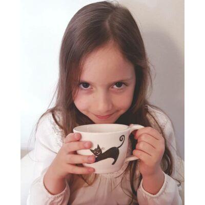 Cicás kerámia csésze
