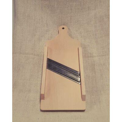 Két pengés nyeles káposztagyalu, 40 cm