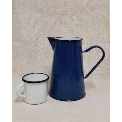 Kék zománcozott kancsó, 2 literes