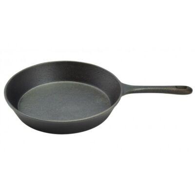 Öntöttvas kerek grill serpenyő - 26 cm