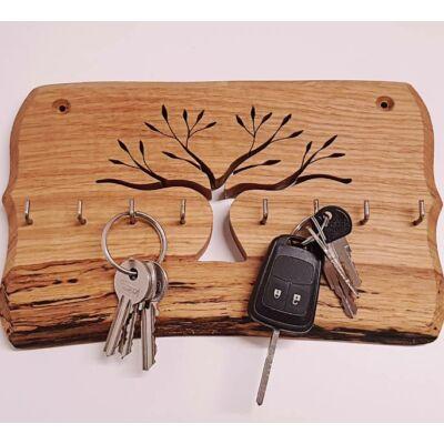 Tölgyfa kulcstartó - 25x15 cm