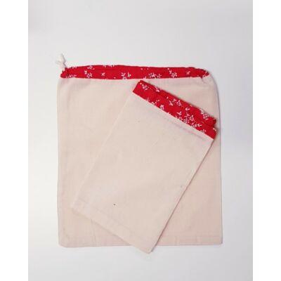 Textilzsák szett - 2 darabos