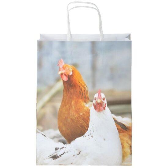 Papírtáska csirkés