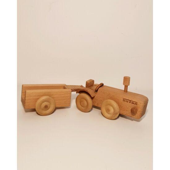 Dutra traktor pótkocsival