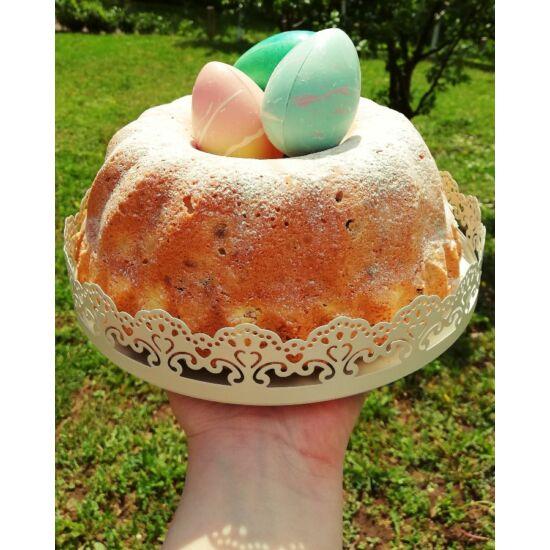 Csatos kuglóf- és tortaforma
