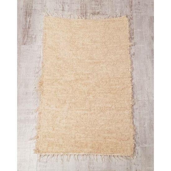 Kézzel szőtt barna szőnyeg, 120 cm