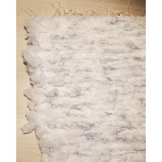 Kézzel szőtt vatelin kékes szőnyeg, 128 cm