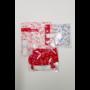 Kép 3/5 - Kékfestő mintás konyhai szett - 8 darabos