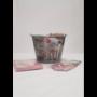 Kép 5/8 - Gyerek szett malacos: esőkabát, kesztyű és vödör